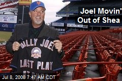 Joel Movin' Out of Shea