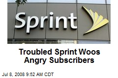 Troubled Sprint Woos Angry Subscribers