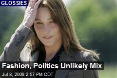 Fashion, Politics Unlikely Mix