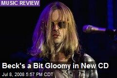 Beck's a Bit Gloomy in New CD