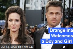 Brangelina Welcomes a Boy and Girl