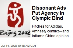 Dissonant Ads Put Agency in Olympic Bind
