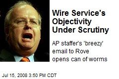 Wire Service's Objectivity Under Scrutiny