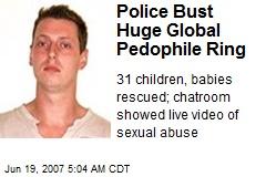 Police Bust Huge Global Pedophile Ring