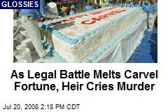 As Legal Battle Melts Carvel Fortune, Heir Cries Murder