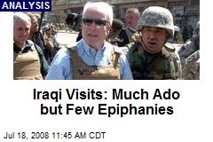 Iraqi Visits: Much Ado but Few Epiphanies