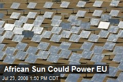African Sun Could Power EU