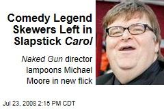 Comedy Legend Skewers Left in Slapstick Carol