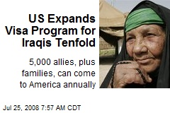 US Expands Visa Program for Iraqis Tenfold
