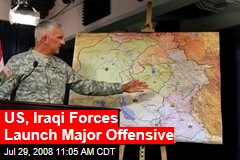US, Iraqi Forces Launch Major Offensive