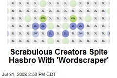 Scrabulous Creators Spite Hasbro With 'Wordscraper'