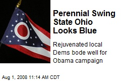 Perennial Swing State Ohio Looks Blue