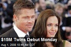 $15M Twins Debut Monday