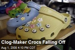 Clog-Maker Crocs Falling Off