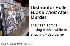 Distributor Pulls Grand Theft After Murder