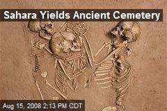 Sahara Yields Ancient Cemetery
