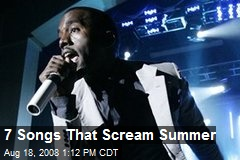 7 Songs That Scream Summer