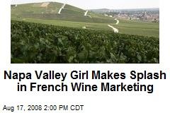 Napa Valley Girl Makes Splash in French Wine Marketing
