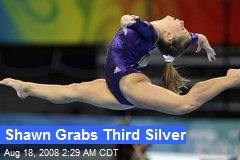 Shawn Grabs Third Silver