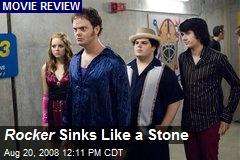 Rocker Sinks Like a Stone