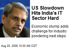 US Slowdown Hits India's IT Sector Hard
