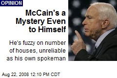 McCain's a Mystery Even to Himself
