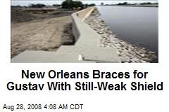 New Orleans Braces for Gustav With Still-Weak Shield