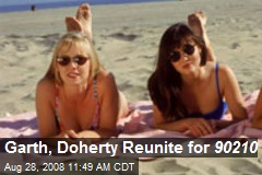 Garth, Doherty Reunite for 90210