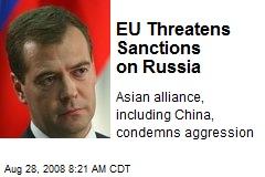 EU Threatens Sanctions on Russia