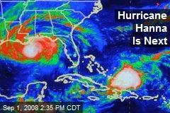 Hurricane Hanna Is Next