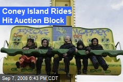 Coney Island Rides Hit Auction Block