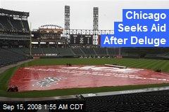 Chicago Seeks Aid After Deluge