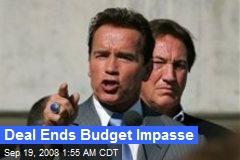 Deal Ends Budget Impasse