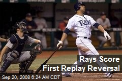 Rays Score First Replay Reversal