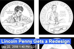 Lincoln Penny Gets a Redesign