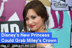 Disney's New Princess Could Grab Miley's Crown