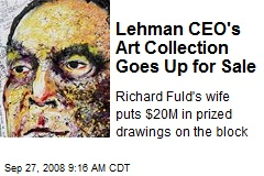 Lehman CEO's Art Collection Goes Up for Sale