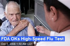 FDA OKs High-Speed Flu Test