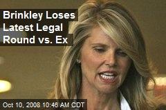 Brinkley Loses Latest Legal Round vs. Ex