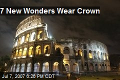 7 New Wonders Wear Crown