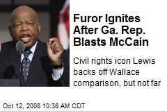 Furor Ignites After Ga. Rep. Blasts McCain