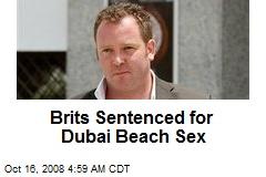 Brits Sentenced for Dubai Beach Sex