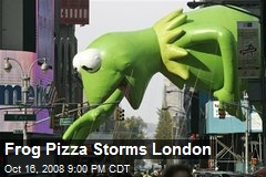 Frog Pizza Storms London