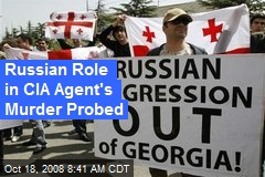 Russian Role in CIA Agent's Murder Probed