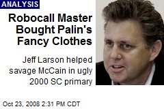 Robocall Master Bought Palin's Fancy Clothes