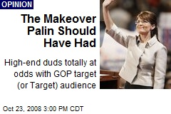 The Makeover Palin Should Have Had