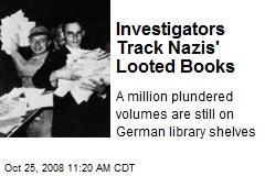 Investigators Track Nazis' Looted Books