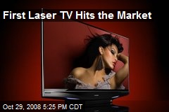 First Laser TV Hits the Market