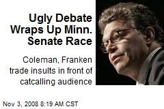 Ugly Debate Wraps Up Minn. Senate Race