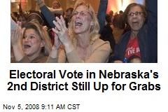 Electoral Vote in Nebraska's 2nd District Still Up for Grabs